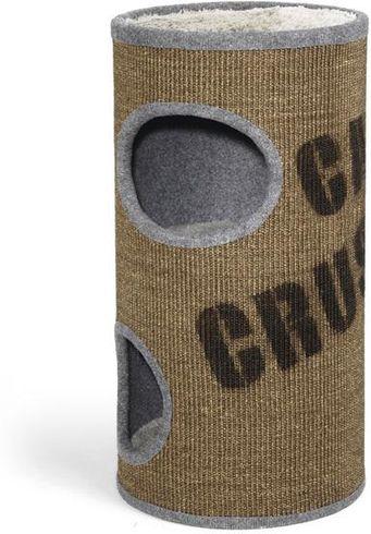 Kratzbaum - Cats Crush - 75 - Braun / Grau - Beeztees